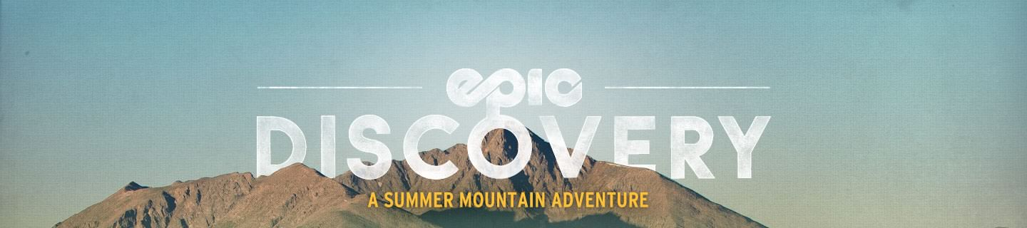Epic Discovery at Vail Resort Header Graphic